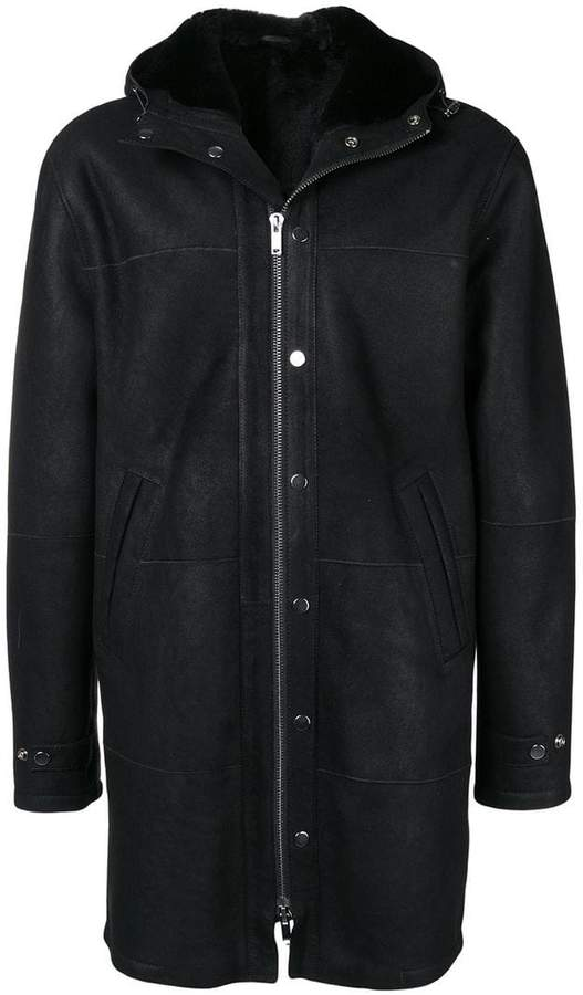 Dondup hooded coat