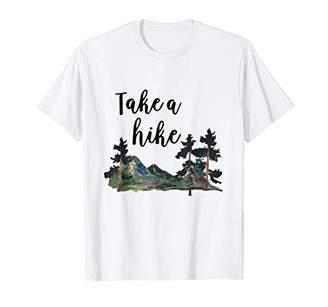 Take A Hike Tree Hiking T-Shirt