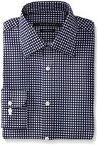 Sean John Men's Tailored Fit Square Print