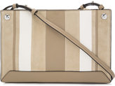 Rag & Bone striped cross body bag - women - Leather/Polyester - One Size