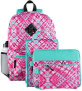 Kids 6-pc. Geometric Backpack & Accessories Set
