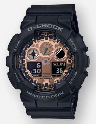 G-Shock G Shock GA100MMC-1A Black & Rose Gold Watch