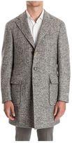 Canali Wool Coat Ff00891 201