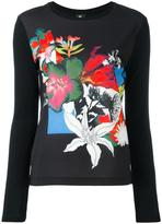 Paul Smith flowers print jumper - women - Polyester/Spandex/Elastane/Modal - M