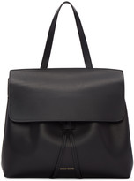 Mansur Gavriel Black Leather Mini Lady Bag