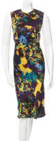 Erdem Printed Midi Dress