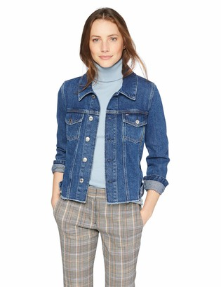 Tommy Hilfiger Tommy Jeans Women's Zippers Trucker Jacket