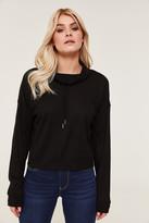 Ardene Waffle Knit Cowl Neck Sweater