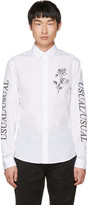McQ by Alexander McQueen White 'Usual/Usual' Shirt