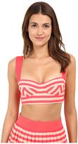 Kate Spade Georgia Beach Stripes Bralette Top