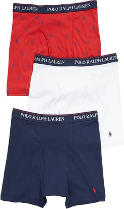 Polo Ralph Lauren 3-Pack Assorted Performance Boxer Briefs