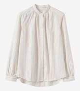 Toast White Stripe Shirt