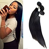Echo Beauty Sliky Straight Malaysian Human Virgin Hair Weft Unprocessed Remy Hair Extensions Natural Color 3 Bundles 10''+10''+10''