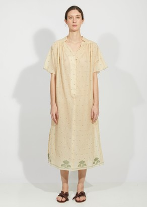 Tea Dyed Jamdani Seya Dress