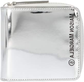 MM6 MAISON MARGIELA Metallic Effect Logo Wallet