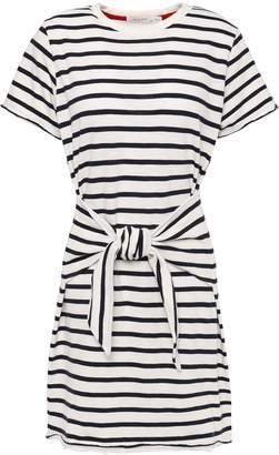 Rag & Bone Halsey Knotted Cotton-jersey Mini Dress