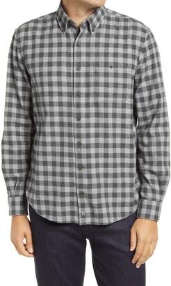 johnnie-O Hangin' Out Hawkins Check Flannel Button-Down Shirt