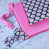 Caden Lane Preppy 4-Piece Crib Bumper in Pink