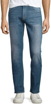 Hudson Slim Straight-Leg Denim Jeans, Lights Out