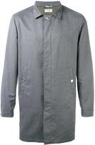 Brunello Cucinelli single breasted coat - men - Nylon/Polyester/Cupro - 50