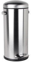 Simplehuman 30L Retro Step Can Round