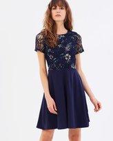 Dorothy Perkins Floral Lace Skater Dress