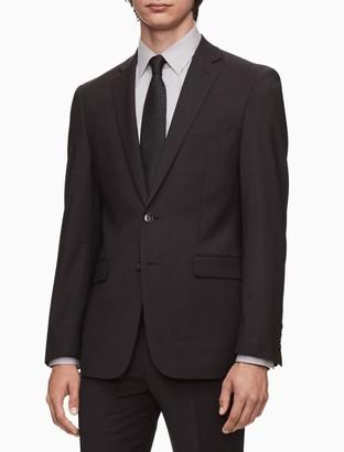 Calvin Klein Skinny Fit Charcoal Grey Suit Jacket