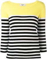 Blugirl three-quarter sleeve jumper - women - Cotton - 40