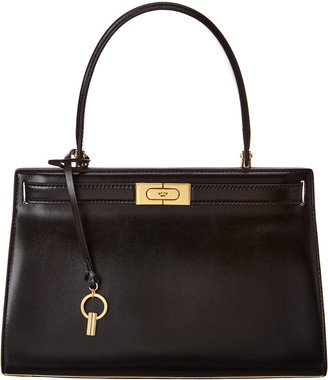 Tory Burch Lee Radziwill Small Leather Satchel