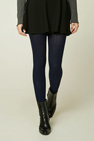 Forever 21 FOREVER 21+ Ribbed Sweater Tights