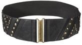 Merona Stud Wide Belt - Black