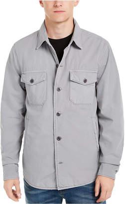 Lucky Brand Men Lined Shirt-Jacket