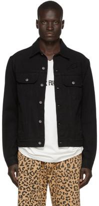 Vyner Articles Black Trucker Jacket