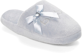 Gray Bow Slipper