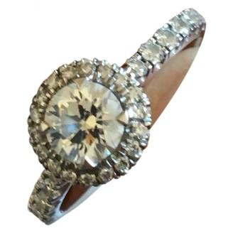 Cartier Silver Platinum Rings