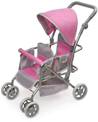 Badger Basket Cruise Folding Inline Double Doll Stroller