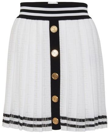Thumbnail for your product : Balmain Mini pleated skirt