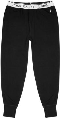 Polo Ralph Lauren Black cotton-jersey sweatpants
