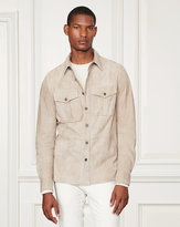 Ralph Lauren Barron Suede Shirt Jacket