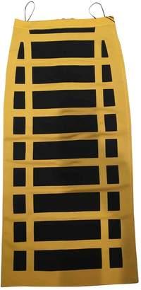 Balmain \N Yellow Skirt for Women