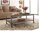 Altra Cecil Rustic Wood Veneer Coffee Table