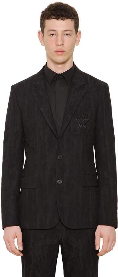 Givenchy Cotton & Wool Moiré Jacquard Jacket