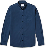 Norse Projects - Anton Slim-fit Garment-dyed Cotton-poplin Shirt