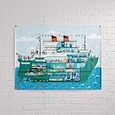 Half Ship Banner