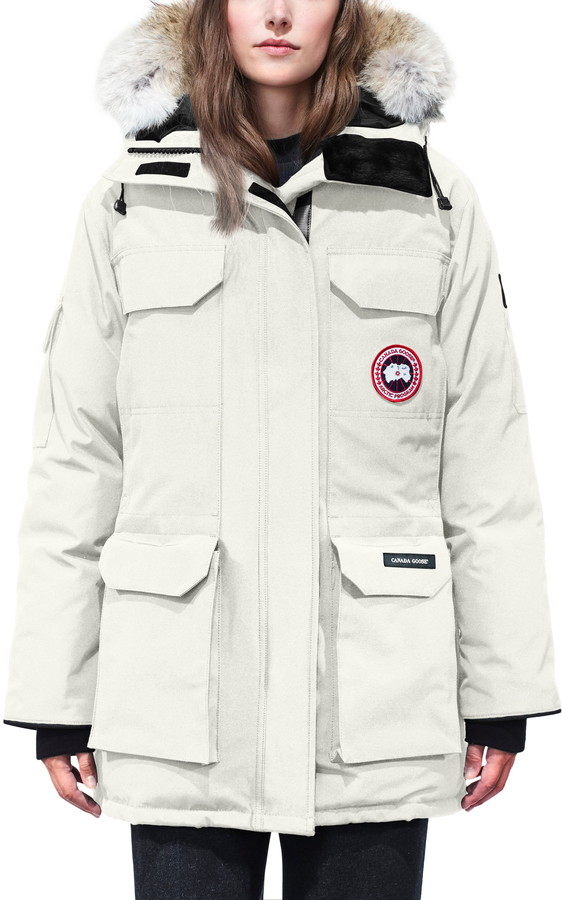 8e3fa0109 Expedition Hooded Down Parka with Genuine Coyote Fur Trim
