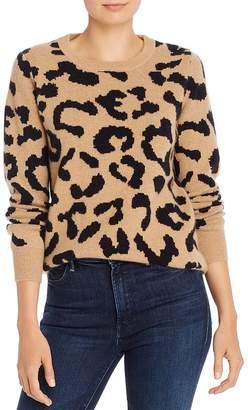 Madeleine Thompson Grumpy Leopard-Print Cashmere Sweater