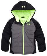 Under Armour Boy's Werewolf Water Resistant Coldgear Hooded Puffer Jacket