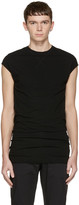 Isabel Benenato Black Long Tank Top