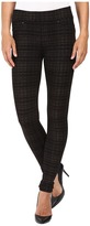 Liverpool Quinn Pull-On Leggings in Metallic Plaid