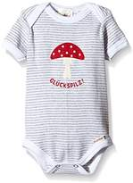 Adelheid Unisex Baby Crew Neck Short Sleeve Bodysuit - Multicoloured - 12-18 Months